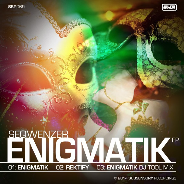 Seqwenzer returns with the Enigmatik EP.