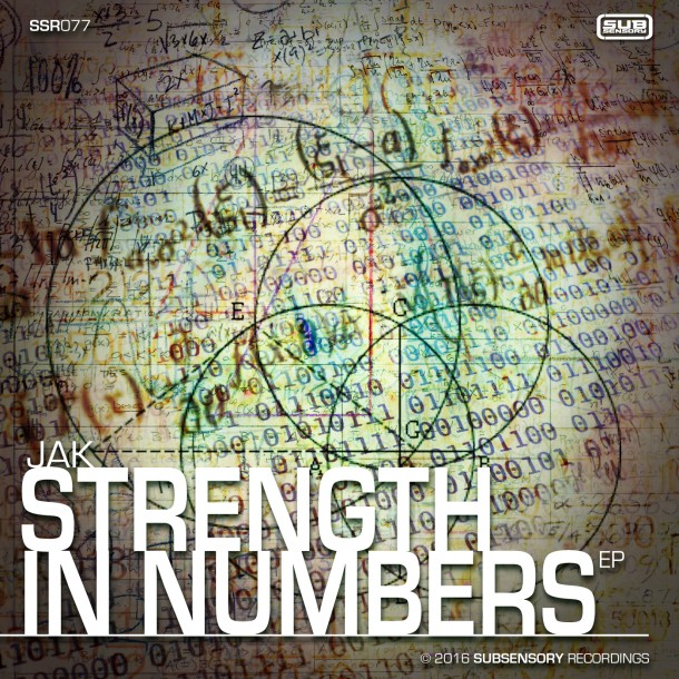 JAK returns to SubSensory with the Strength in Numbers EP