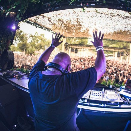 Carl Cox Shows Big Support for Sergio Vilas – Detroit Day